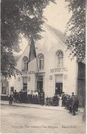 Huis Jos. Van Gompel-Van Heupen - Markt-Moll - Zeer Geanimeerd - 1912 - Uitg. Jos. Van Gompel-Van Heupen - Mol