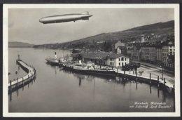 Rorschach Hafen - Dampfschiff - Bahnhof - Luftschiff - Zeppelin - Gelaufen - SG St. Gall