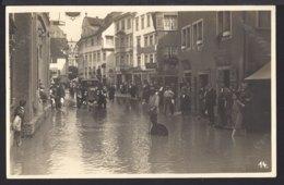 Rorschach - Hochwasser - Überschwemmung - Oldtimer Belebt - 1926 - SG St. Gallen
