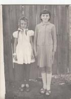 UKRAINE. #1482 A PHOTO. CHILDREN. GIRLS ON A WALK. COUNTRY CLOTHES. *** - Proyectores De Cine
