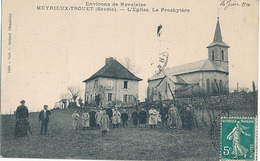 MEYRIEUX TROUET - L'EGLISE - LE PRESBYTERE - France