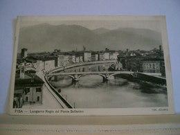 Pisa - Lungarno Regio Col Ponte Solferino - Panorama - Foto Alinari - Pisa