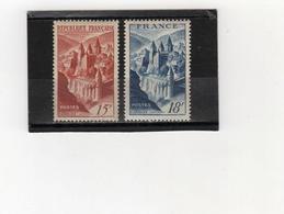 FRANCE   1947  Y.T. N° 792  NEUF*  805  NEUF** - France