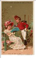 CHROMOS DORE - CHOCOLAT GUERIN - BOUTRON - Mode De 1810 à 1820 - Guerin Boutron