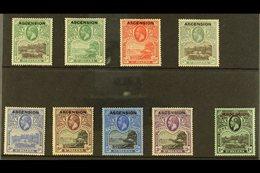 1922 Overprinted Definitive Set, SG 1/9, Fine Mint (9 Stamps) For More Images, Please Visit Http://www.sandafayre.com/it - Ascension