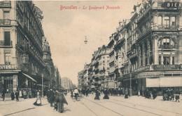 CPA - Belgique - Brussels - Bruxelles - Le Boulevard Anspach - Lanen, Boulevards