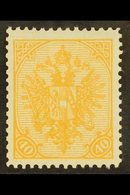 AUSTRO-HUNGARIAN MILITARY POST 1900-01 40h Orange, Perf.12½, Mi 19A, SG 160, Fine Mint. For More Images, Please Visit Ht - Unclassified