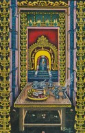 CARTOLINA - POSTCARD - INDIA - SANCTUM OF RAMANTHA SWAMY - India