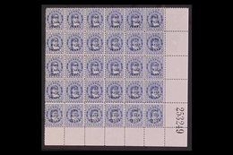 1899 RARE COMPLETE SURCHARGE SETTING OF 30. ½d On 1d Blue Surcharge, SG 21, Fine Mint (most Stamps Are Never Hinged) Low - Cook Islands
