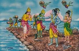 CARTOLINA - POSTCARD - INDIA - SETHU BANDHANAM - India