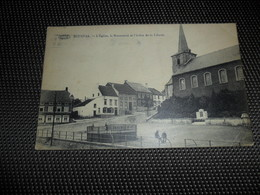 Bousval   L' Eglise Et Le Monument - Genappe