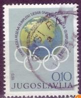 OLYMPICS WEEK-POSTMARK DUGI RAT -CROATIA -YUGOSLAVIA - 1973 - Olympic Games