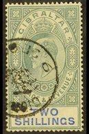 1904-08 2s Green & Blue, SG 62, Fine Cds Used For More Images, Please Visit Http://www.sandafayre.com/itemdetails.aspx?s - Gibraltar