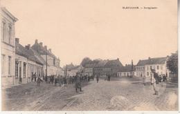 Sleidinge - Sleydinge - Dorpplaats - Zeer Geanimeerd - Uitg. E. Desaix - Evergem