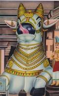 CARTOLINA - POSTCARD - INDIA - THE BIGGEST NANDHI RAMESWARAM - India