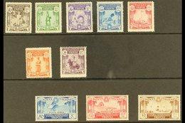 TRIPOLITANIA 1931 Fifth Tripoli Faircomplete Set Including Air & Express Stamps, SG 123/E132 (Sassone Libya 95/102, A3  - Italy