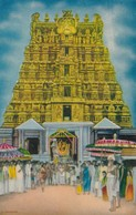 CARTOLINA - POSTCARD - INDIA - WEST TOWER VIEW - India