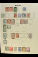 1876-1936 MINT & USED COLLECTION. A Most Useful Range, Presented On Printed Pages With (used Unless Stated Otherwise) 18 - Montserrat
