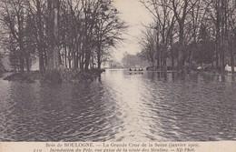 PARIS - #16-75002 - INONDATION 1910 - BOIS DE BOULOGNE - Paris Flood, 1910