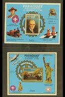 1985 Air Rotary International Both Mini-sheets (Scott C594/95, Michel Blocks 412/13), Superb Never Hinged Mint, Very Fre - Paraguay