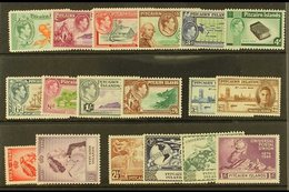 1940-1949 COMPLETE SUPERB MINT RUN On A Stock Card, All Different, Complete SG 1/16, Note 1940-51 Set, 1949 Wedding & UP - Stamps