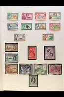 1940-77 COLLECTION On Pages With 1940-51 Set Mint, Then Nhm Incl. 1948 Wedding, 1957-63 Set, 1969-75 Set, 1975 Mailboats - Stamps