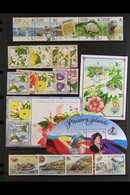 2000-2007 NEVER HINGED MINT COLLECTION A Lovely Near Complete Collection Of Sets And Miniature Sheets, Includes 2000 Flo - Stamps