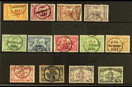 AZORES 1894 Henry The Navigator Complete Set, SG 143/55, Afinsa 60/72, Fine Used (13 Stamps) For More Images, Please Vis - Colonies & Territories – Unclassified