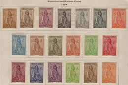 CAPE VERDE 1934 Ceres Definitive Set, SG 270/88, Very Fine Mint (19 Stamps) For More Images, Please Visit Http://www.san - Colonies & Territories – Unclassified