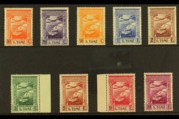 ST THOMAS & PRINCE ISLANDS 1938 Navigator Air Set (inscribed - S.TOME), SG 362/370, Fine Mint (9 Stamps) For More Images - Colonies & Territories – Unclassified