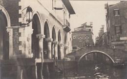 VENEZIA-CARTOLINA VERA FOTOGRAFIA-DATATA AL RETRO 30-3-1921-NON VIAGGIATA - Venezia (Venice)