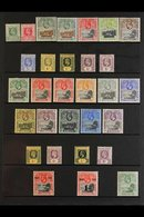 1902-36 TWO KINGS MINT COLLECTION An Attractive Collection Presented On Stock Pages That Includes KEVII 1902 Set, 1903 R - Saint Helena Island