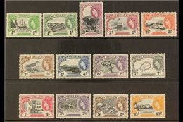 1953-59 Pictorials Complete Set, SG 153/65, Never Hinged Mint, Very Fresh. (13 Stamps) For More Images, Please Visit Htt - Saint Helena Island