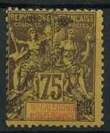 Nouvelle Caledonie (1903) N 79 * (charniere) - Unused Stamps