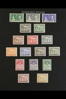 1938-1950 SUPERB MINT COLLECTION OF SETS Presented On Album Pages, All Different, Inc 1937 Coronation Set, 1938-45 Set,  - Turks And Caicos