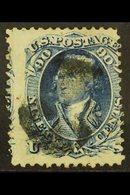 1867 90c Blue, Scott 101, Cat $ 2250. Fine Used For More Images, Please Visit Http://www.sandafayre.com/itemdetails.aspx - Unclassified