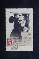 FRANCE - Carte Maximum Gandon En 1949 - L 27743 - Cartoline Maximum