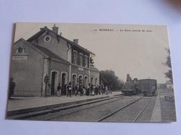 Boussac - La Gare , Arrivée D'un Train - Boussac