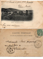 ANOULD - Vue Générale Du Souche - Cachets : Fraize A St Léonard Et Bruyères A Rambervillers (Rare) 112641) - Anould