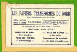 Buvard & Blotting Paper : Les Papiers Transformés Du Nord  MARC EN BAROEUL - Stationeries (flat Articles)