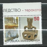 MACEDONIA 2019 - Cultural Heritage - GREAT MOTHER TERRACOTA ARCHEOLOGY. MNH - Macédoine