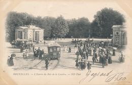 CPA - Belgique - Brussels - Bruxelles - L'Entrée Du Bois De La Cambre - Bossen, Parken, Tuinen