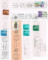 32254. España Lote 22 Fragmentos Rodillos Especiales Correos  1978-1991 - 1931-Hoy: 2ª República - ... Juan Carlos I