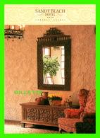 LARNACA, CHYPRE - SANDY BEACH HOTEL - POLYDOROU DESIGN CONSULTANTS - DIMENSION 12 X 17 Cm - - Chypre