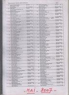 Gembloux   Liste électorale 2007 - Vieux Papiers