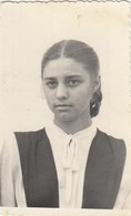 UKRAINE. #1492 A PHOTO. CHARMING GIRL, WITH LONG KOSAMI.  *** - Proyectores De Cine