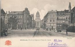CPA - Belgique - Brussels - Bruxelles - Rue De La Régence - Lanen, Boulevards