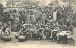 Pays Div-ref R776- Dahomey -collection Des Missions Africaines - Misson -religion -christianisme -un Orchestre - - Dahomey