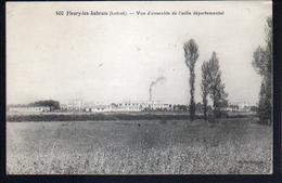 45, Fleury Les Aubrais, Vue D'ensemble De L'asile Departemental - France