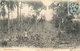 Pays Div-ref R773- Dahomey -collection Des Missions Africaines - Misson -religion -christianisme -dans La Brousse - Dahomey